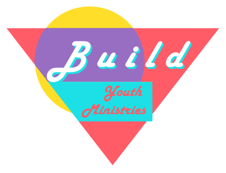 Build Logo 80s White Stroke